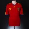2009-10 Spain Home Shirt Torres #9 M