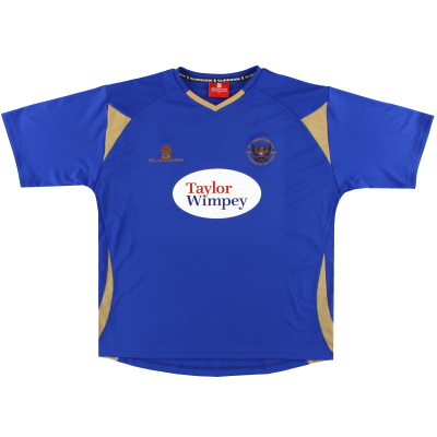 2009-10 ST.Johnstone Surridge '125 years' Home shirt L