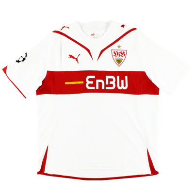 2009-10 Stuttgart Home Shirt L