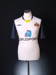 2009-10 Sunderland Away Shirt L