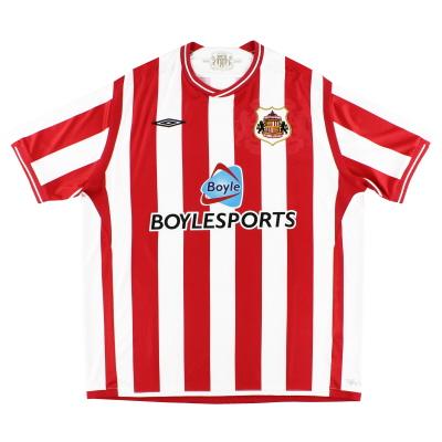 2009-10 Sunderland Umbro Home Shirt XL