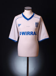 2009-10 Tranmere Rovers '125 Years' Home Shirt M