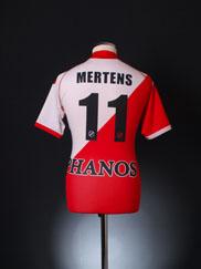 2009-10 Utrecht Home Shirt Mertens #11 S