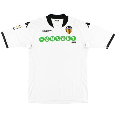 2009-10 Valencia Home Shirt L