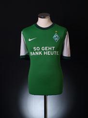 2009-10 Werder Bremen Home Shirt L