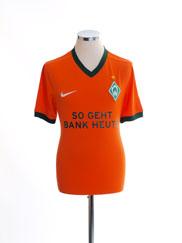 2009-10 Werder Bremen Third Shirt M