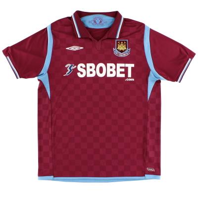 2009-10 West Ham Home Shirt XL