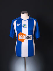 2009-10 Wigan Home Shirt M