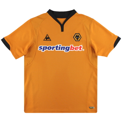 2009-10 Wolves Le Coq Sportif Home Shirt XL