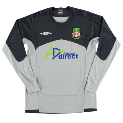 2009-10 Wrexham Umbro Goalkeeper Shirt S