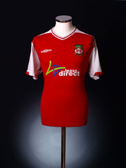 2009-10 Wrexham Home Shirt XL
