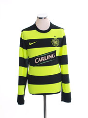 2009-11 Celtic Away Shirt L/S M