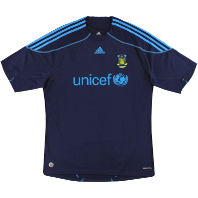 2009-11 FC Brondby adidas Away Shirt XL