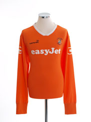 2009-11 Luton Town Home Shirt L/S XL