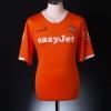 2009-11 Luton Town Home Shirt Gnakpa #18 M