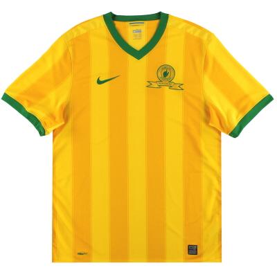 2009-11 Mamelodi Sundowns Nike Home Shirt *Mint* L