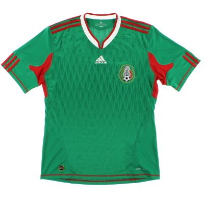 2009-11 Mexico Home Shirt M
