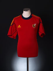 2009-11 Spain Player Issue Training Shirt L