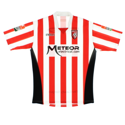 2009 Derry City Home Shirt L
