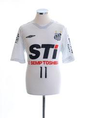 2009 Santos Home Shirt #11 L