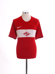 2009 Spartak Moscow Home Shirt M