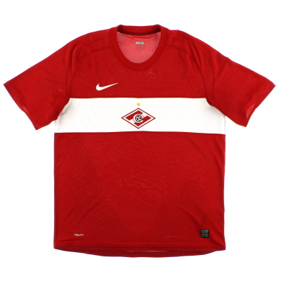 2009 Spartak Moscow Home Shirt L
