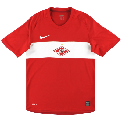 2009 Spartak Moscow Nike Home Shirt S