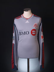 2009 Toronto FC Player Issue Away Shirt L/S XXL