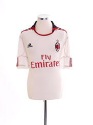 2010-11 AC Milan Away Shirt S