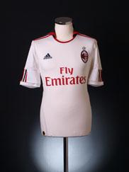 2010-11 AC Milan Away Shirt S