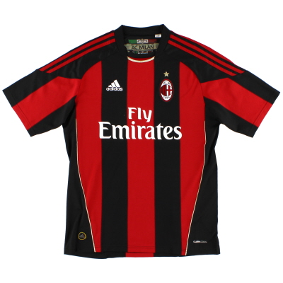 2010-11 AC Milan Home Shirt Y