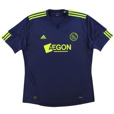2010-11 Ajax adidas Away Shirt XXL