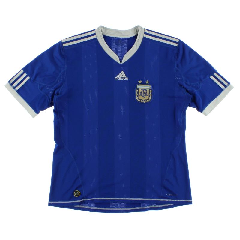 2010-11 Argentina Away Shirt XXL
