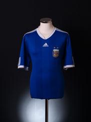 2010-11 Argentina Away Shirt L