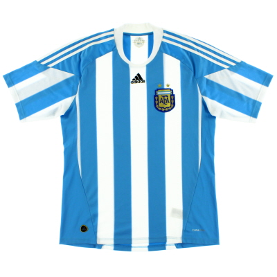 2010-11 Argentina Home Shirt *Mint* L