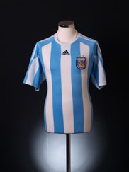 2010-11 Argentina Home Shirt Y