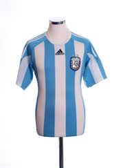 2010-11 Argentina Home Shirt XL