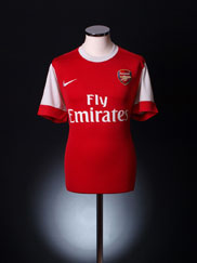 2010-11 Arsenal Home Shirt *Mint* XL