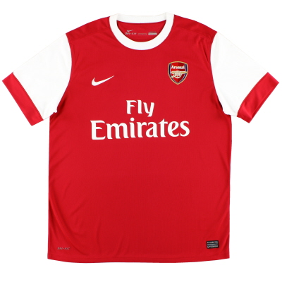 2010-11 Arsenal Home Shirt *Mint* M.Boys