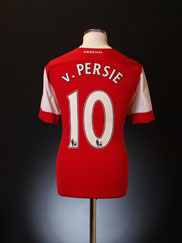 2010-11 Arsenal Home Shirt v.Persie #10 L