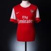 2010-11 Arsenal Home Shirt v.Persie #10 L