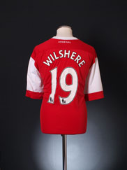2010-11 Arsenal Home Shirt Wilshere #19 XXXL