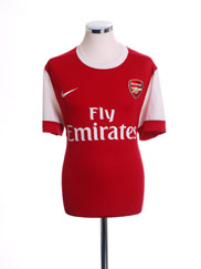 2010-11 Arsenal Home Shirt M