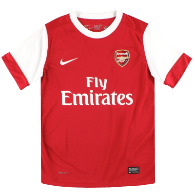 2010-11 Arsenal Nike Home Shirt *Mint* M.Boys