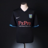 2010-11 Aston Villa Away Shirt Agbonlahor #11 XL