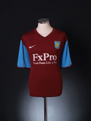 2010-11 Aston Villa Home Shirt XXL