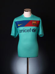 2010-11 Barcelona Away Shirt *BNWT* M