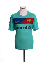 2010-11 Barcelona Away Shirt M