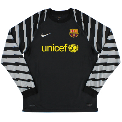 2010-11 Barcelona Goalkeeper Shirt L