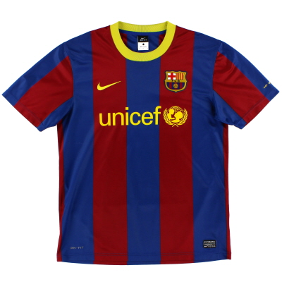 2010-11 Barcelona Home Fan Shirt M